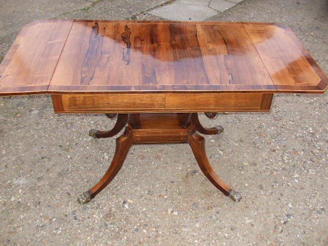 card table french polish 1
