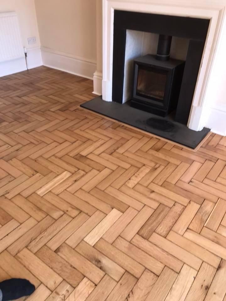 repairs on parquet floor 3
