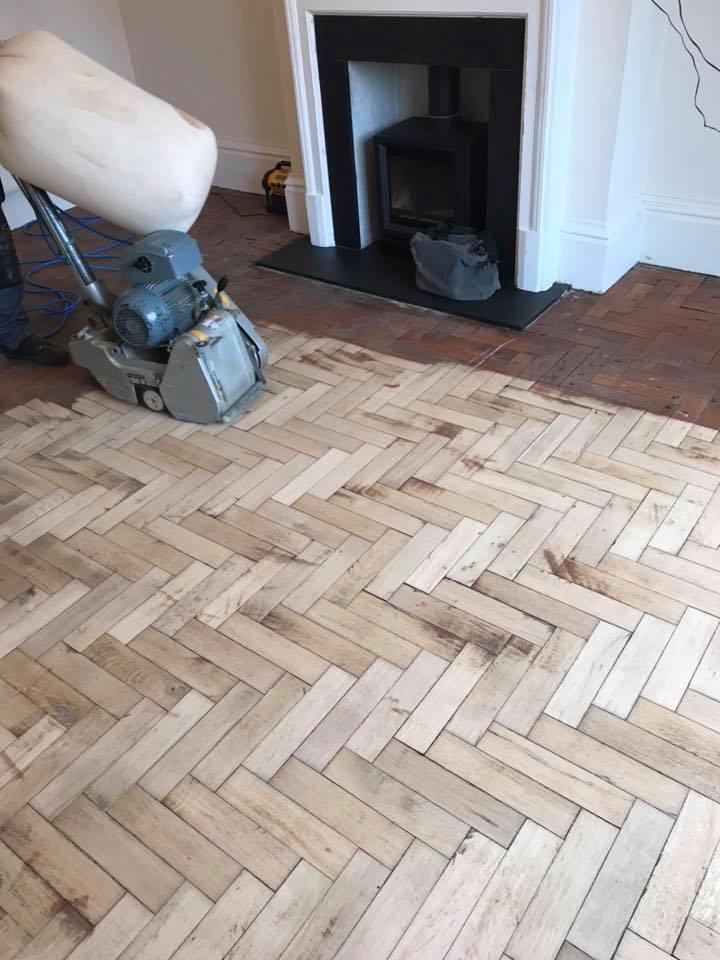 repairs on parquet floor 2
